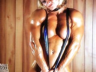Large Female Bodybuilder Brigita Brezovac Hot Female Muscle
