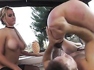 Anal Invasion Pornographic Stars Gladly Suck Rocco Clean