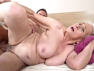 Fat Matures Hoe Norma Is Actually Good Enough To Rail Dick On Top