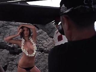Emily Ratajkowski - Gq Beach Photo Shoot