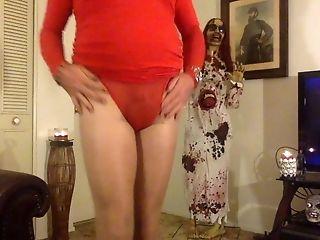 Low Spark Of Pantyhose Boy