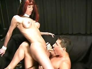 Sexy Tranny Is Banged By Milky Bitch In The Nice Dark Room