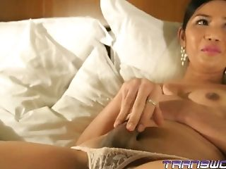 Marian In Milky Underwear