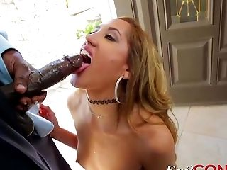 Chloe Amour Wants A Big Black Dick In Her Cock-squeezing Gash