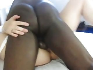 Black Dude Nutting In Milky Honeypot
