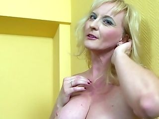 Matures Buxom Blonde Monika Wipper Pounded Hard By A Big Black Sausage