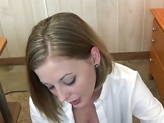 Sexy College Girl Hot For Lecturer