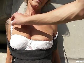 Insane Matures Whore Exposes Her Tits And Gives Nice Head