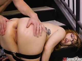 Lauren Phillips Arches Over For A Cool Paramour's Penis