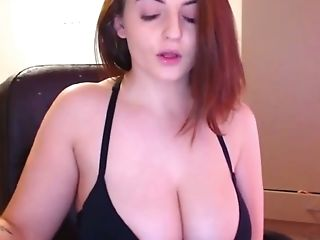 Horny Bbw Stunner Displaying Her Lovely Tits