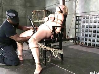 Whore Winnie Rider Yells During Xxx Bondage & Discipline Torment Session