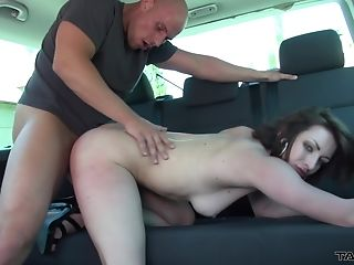 Czech Honey Alexis Is Picked Up On The Street And Pounded In His Car