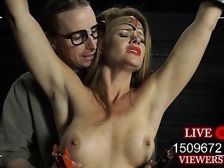 Battered Amber Costume Play Bondage & Discipline Pornography Flick