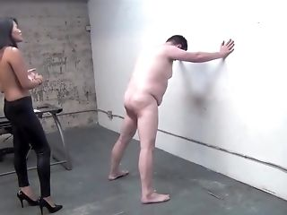 Hot Fierce Asian Mistress Extreme Brutal Kicking Balls