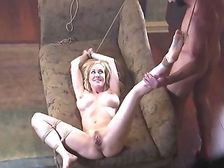 Hog Tied Cougar Senses Good When Stepson Thrust Trunk Into Her
