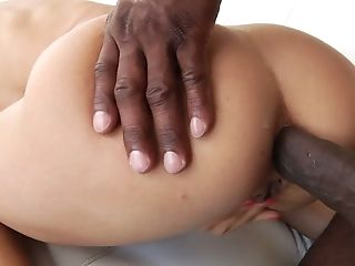 Jaw Ripping Off Milky Mummy Alexis Fawx Takes A Immense Black Dick In Her Cornhole