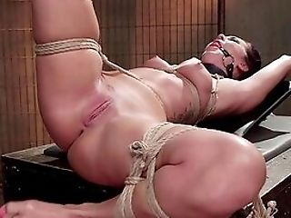 Naked Asian Tied In Ropes, Enslaved Rectal Extreme