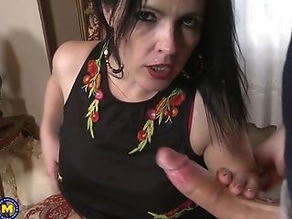Matures Black-haired Nymphomaniac Montse Swapper Rails Trouser Snake Like A Maniac