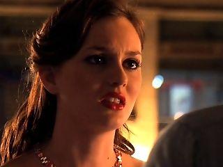 Jessica Szohr. Leighton Meester - Gossip Dame S04e02